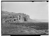 view Naqsh-i Rustam (Iran): Panoramic View of the Marv Dasht Plain and the Sacred Precinct with Achaemenid Tombs and Sasanian Rock Reliefs Carved into the Husain Kuh cliff digital asset: Naqsh-i Rustam (Iran): Panoramic View of the Marv Dasht Plain and the Sacred Precinct with Achaemenid Tombs and Sasanian Rock Reliefs Carved into the Husain Kuh cliff [graphic]