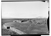 view Excavation of Persepolis (Iran): Panoramic View of Terrace Complex before Excavation digital asset: Excavation of Persepolis (Iran): Panoramic View of Terrace Complex before Excavation [graphic]