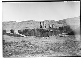 view Excavation of Persepolis (Iran): Great Stairway to the Terrace Complex and Gate of All Lands: View before Excavation digital asset: Excavation of Persepolis (Iran): Great Stairway to the Terrace Complex and Gate of All Lands: View before Excavation [graphic]