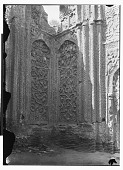 view Hamadan (Iran): Gunbad-i Alaywian, South Corner of Mausoleum's Interior: View of Carved Stucco in High Relief Adorning the Walls digital asset: Hamadan (Iran): Gunbad-i Alaywian, South Corner of Mausoleum's Interior: View of Carved Stucco in High Relief Adorning the Walls [graphic]