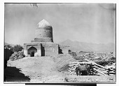 view Hamadan (Iran): Mausoleum of Esther and Mordecai: Exterior View of the Shrine for Iranian Jews digital asset: Hamadan (Iran): Mausoleum of Esther and Mordecai: Exterior View of the Shrine for Iranian Jews [graphic]