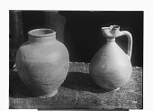 view Glazed Jug and Small Pitcher digital asset: Glazed Jug and Small Pitcher [graphic]