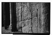 view Naqsh-i Rustam (Iran): Tomb of Darius I, Middle Register: View of Inscription, DNb, Aramaic Version [graphic] digital asset number 1
