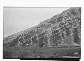 view Bishapur (Iran): Rocky Escarpment with Sassanid Rock Reliefs digital asset: Bishapur (Iran): Rocky Escarpment with Sassanid Rock Reliefs [graphic]