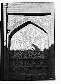 view Shiraz (Iran): Arg-e-Karimi: Detail View of Floral Decorative Tile Panel [graphic] digital asset number 1