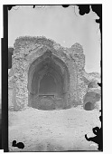 view Baghdad (Iraq): Abbasid Palace in the Qal'a: View of the East Iwan digital asset: Baghdad (Iraq): Abbasid Palace in the Qal'a: View of the East Iwan [graphic]