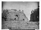 view Khargird (Iran): Madrasa al-Nizamiyya: Remnants of a Fac̦ade which Arched Doors were Alterated digital asset: Khargird (Iran): Madrasa al-Nizamiyya: Remnants of a Fac̦ade which Arched Doors were Alterated [graphic]