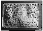 view Palmyra (Syria): View of Paper Squeeze of Inscription in the Palmyrene Dialect of Aramaic (Syriac Script) digital asset: Palmyra (Syria): View of Paper Squeeze of Inscription in the Palmyrene Dialect of Aramaic (Syriac Script) [graphic]