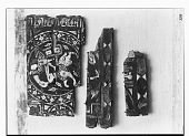 view Arab Museum, Cairo (Egypt): Painted Wood Panel Fragments [graphic] digital asset number 1