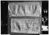 view Palmyra (Syria): Two Paper Squeezes of Bilingual Inscriptions in the Palmyrene Dialect of Aramaic (Syriac Script) and in Greek [graphic] digital asset number 1