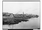 view Cairo (Egypt): Nile Riverbanks: View of an Unidentified Minaret [graphic] digital asset number 1