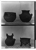 view Vicinity of Nihavand (Iran): Ceramic Vessels with Painted Pattern and Animal Design, from Prehistoric Mound of Tepe Giyan digital asset: Vicinity of Nihavand (Iran): Ceramic Vessels with Painted Pattern and Animal Design, from Prehistoric Mound of Tepe Giyan [graphic]
