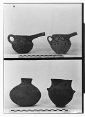 view Vicinity of Nihavand (Iran): Ceramic Vessels with Painted Pattern and Geometric Ornaments, from Prehistoric Mound of Tepe Giyan digital asset: Vicinity of Nihavand (Iran): Ceramic Vessels with Painted Pattern and Geometric Ornaments, from Prehistoric Mound of Tepe Giyan [graphic]