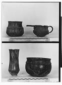 view Vicinity of Nihavand (Iran): Bronze Vessels, from Prehistoric Mound of Tepe Giyan [graphic] digital asset number 1