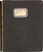 view Account Ledger, 1907-1917 digital asset number 1