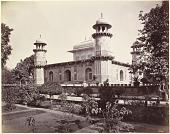 view Samuel Bourne Photograph: Mausoleum of Prince Etmad-Dowlach, Agra digital asset: Samuel Bourne Photograph: Mausoleum of Prince Etmad-Dowlach, Agra