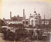 view Still Prints of Asia: View From the Terrace, Tomb of Zenab Aliya, Lucknow digital asset: Still Prints of Asia: View From the Terrace, Tomb of Zenab Aliya, Lucknow