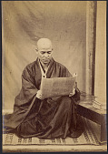 view [Priest reading], ca. 1870s. [graphic] digital asset number 1