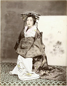 view Oiran, [1860 - ca. 1900]. [graphic] digital asset number 1