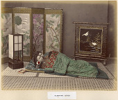 view Sleeping Girls, [ca. 1860 - ca. 1900]. [graphic] digital asset number 1