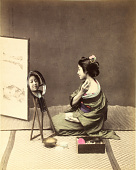 view [Woman at toilette], [1860 - ca. 1900]. [graphic] digital asset number 1