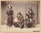 view 109. Samurais In Armour, [1880 - 1890]. [graphic] digital asset number 1