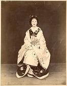 view Woman in formal kimono digital asset: Woman in formal kimono, [graphic]