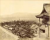view Kyoto: View from Kiyomizudera, ca. 1870s [graphic] digital asset number 1