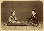 view [Two musicians], [1860 - ca. 1900]. [graphic] digital asset number 1