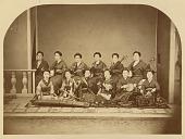 view [Twelve-woman ensemble] digital asset: [Twelve-woman ensemble], [graphic]