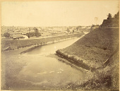 view Tokyo: Imperial Palace, Moat from Kasumigaseki to Hanzomon, ca. 1871. [graphic] digital asset number 1