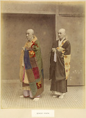 view Buddhist priests, [1860 - ca. 1900]. [graphic] digital asset number 1