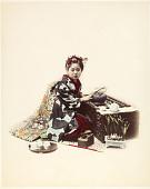 view 201 [Woman making tea] digital asset: 201 [Woman making tea], [graphic]