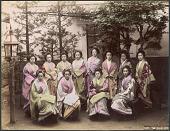 view 1605 Tea house girls digital asset: 1605 Tea house girls, [graphic]