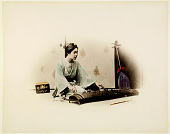 view 136 [Woman playing koto], [graphic] digital asset number 1