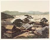 view Yebisu Temple, Nagasaki, [1860 - ca. 1900]. [graphic] digital asset number 1