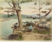 view View of Nagasaki Harbor, [1860 - ca. 1900]. [graphic] digital asset number 1