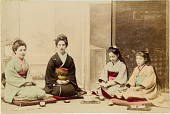 view [Western and Japanese women with children], [1860- ca. 1900]. [graphic] digital asset number 1