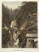 view Metaki waterfall at Kobe, [1860 - ca. 1900]. [graphic] digital asset number 1