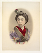 view [Girl with flower in her hair], [1860 - ca. 1900]. [graphic] digital asset number 1