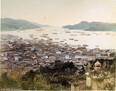 view A192 View of Nagasaki, [1860 - ca. 1900]. [graphic] digital asset number 1