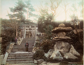 view G95 Temple, Nagasaki, [1860 - ca. 1900]. [graphic] digital asset number 1
