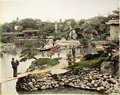 view [Prince Hotta's garden at Tokyo], [1860 - ca. 1900]. [graphic] digital asset number 1