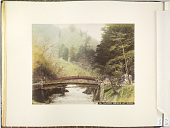 view 751 Sacred bridge at Nikko, [1860 - ca. 1900]. [graphic] digital asset number 1