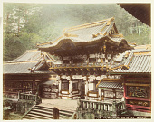 view 726 Yomeimon gate at Nikko, [1860 - ca. 1900]. [graphic] digital asset number 1