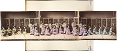 view The 'Miyako-odori' dancing in Kioto, [After 1872]. [graphic] digital asset number 1