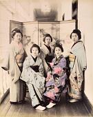view [Five women], [1860 - ca. 1900]. [graphic] digital asset number 1