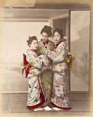 view [Three women embracing], [1860 - ca. 1900]. [graphic] digital asset number 1