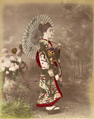 view [Woman with parasol], [1860 - ca. 1900]. [graphic] digital asset number 1