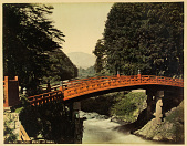 view No. 429 Sacred bridge at Nikko, [1860 - ca. 1900]. [graphic] digital asset number 1